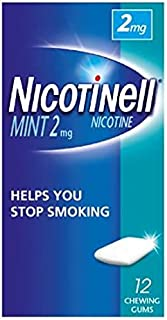 Nicotinell Gums Mint, 2 mg, 12's 1 Units
