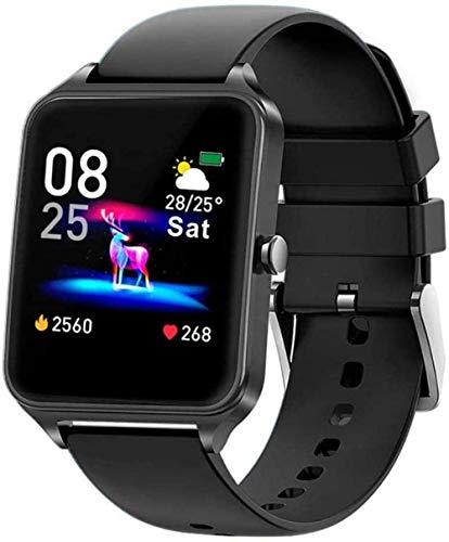 Reloj inteligente de 1,4 pulgadas, pantalla táctil a color, presión arterial, fitness, reloj de pulsera con monitor de oxígeno en sangre, podómetro, 5 exquisitos/3-2