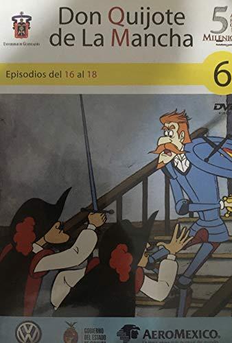 Don Quijote de La Mancha 6 - Episodios del 16 al 18