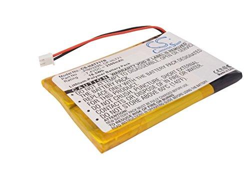 Battery Replacement for Digital PRISIM A1710130, ATSC710, TVS3970A Part NO CP-HLT71, PL903295
