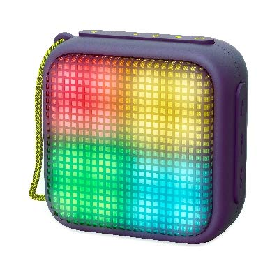 Energy Beat Box 2+ Lightcube (Beat Lights, TWS, Bluetooth v4.2, 5W, microSD MP3, FM Radio) - Morado