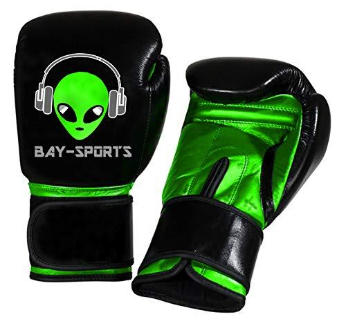 Bay® Discount Green Alien Kinder Boxhandschuhe (4 Unzen)