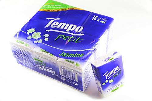 TEMPO(テンポ) ティッシュ 高級なティッシュペッパー 4枚重ねのティッシュ 吸水性が高い しっかりした生地 ...