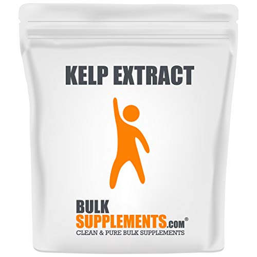 BulkSupplements.com Kelp Extract (Seaweed) Powder - Sea Moss Powder - Kelp Supplement - Kelp Powder for Dogs - Seaweed Powder Food Grade (250 Grams)