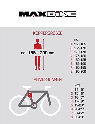 BIKE SPORT LIVE ACTIVE 27,5 Zoll Bikesport Thunder Herren Fahrrad MTB Mountainbike Hardtail Shimano 21 Gang (Blau matt, XL) - 4