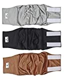 Pet Parents Premium Washable Dog Belly Band (3pack) of Male Dog Diapers, Color: