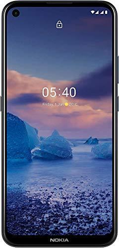 Nokia 5.4 Smartphone mit 6,39-Zoll-HD+-Display, 4 GB RAM, 128 GB Speicher, 48-MP-Vierfach-Kamera, Qualcomm Snapdragon 662, 2 Tagen Akkulaufzeit und Android-Upgrades, Dual-SIM - Polar Night - 2