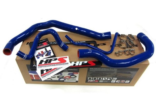 HPS (57-1211-BLUE) Silicone Radiator Hose Kit for Mini Cooper S