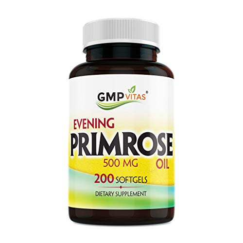 GMPVitas Evening Primrose Oil-Maintain Smooth-Healthy Looking Skin-Supports hormonal Balance-Supports hormonal Balance (1)