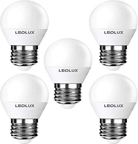 5er E27, LED E27, LED lampe E27, E27 6W Warmweiss, 610 Lumen 8 SMD 2835 LED Ra 80, 230V CCD Ersetz 60W, LumenTEC (5er PAK Warmweiss)