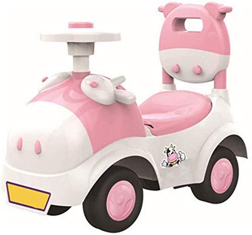 Sicherheitsgeschenk Baby Shining Walker Autospielzeug Kinder Fahren mit dem Auto 1-3 Jahre alte Kinder Roller Balance Fahrradzug Baby 4 Räder (Farbe: 3)