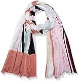 Tommy Hilfiger Tommy Stripe Scarf Rayas, Pink Mix, talla única para Mujer
