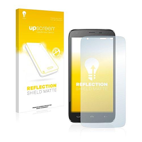 upscreen Entspiegelungs-Schutzfolie kompatibel mit Doogee Homtom HT6 – Anti-Reflex Bildschirmschutz-Folie Matt