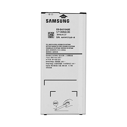 Original Akku Samsung Eb-BA510ABE mit 2900mAh Kapazität - Schnelllade2.0 für Galaxy A5 2016 - Bulk ohne Box