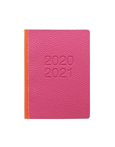 Letts Schülerkalender, A6, zweifarbig, 1 Tag pro Seite, 20/21, Rosa