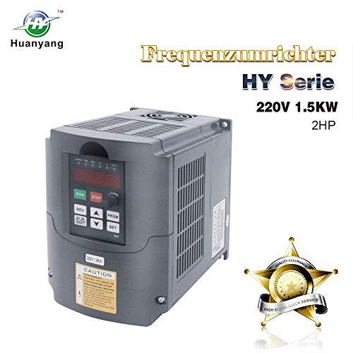 Frequenzumrichter (VFD),Computerized Numerical Control (CNC),der Motor Inverter Konverter,für Spindelmotor,Kontrolle der Geschwindigkeit,Huanyang HY –Serie (220V/1.5KW)