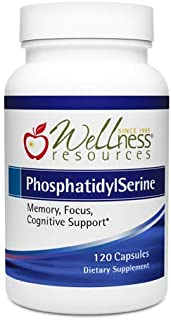 PhosphatidylSerine Soy-Free Sharp-PS® Green (100mg, 120 Capsules) Non-GMO, Vegan