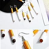Immagine 2 orecchini sigaretta per donna di