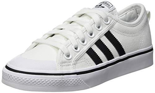 adidas Nizza, Zapatillas Deportivas Hombre, FTWR White Core Black FTWR White, 35.5 EU