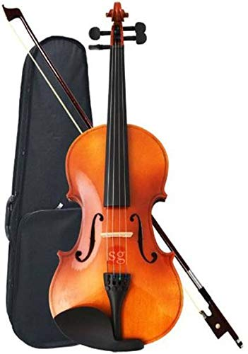 Sharma Musical Store Maple Wood Violin with Case