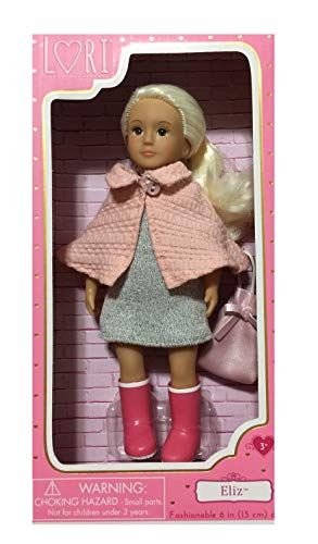 Lori Mini Fashion Doll Blonde Hair Named Eliz
