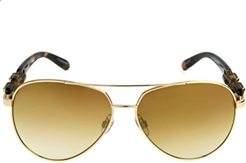discount Foster Grant outlet online sale Women's Pilot Aviator popular Gold Brown Fashion Sunglasses sale