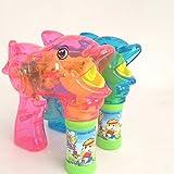 BeesClover 1 x Auto-Cartoon-Seifen-Wasserblasenpistole für Kinder im Freien, Spielzeug für Kinder,...