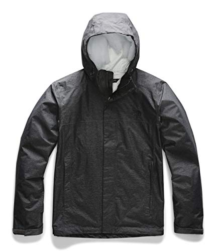 The North Face Men's Venture 2 Jacket, TNF Dark Grey Heather, Large