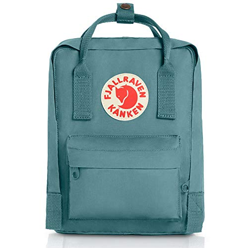 Fjällräven Kids' Kånken Mini Backpack, Sky Blue, 13 x 20 x 29 cm