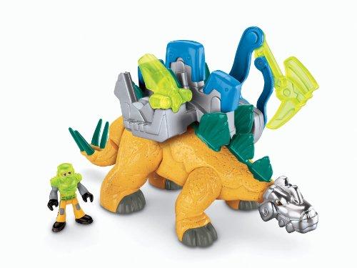 Fisher Price Deluxe Imaginext Stegosaurus Dinosaur