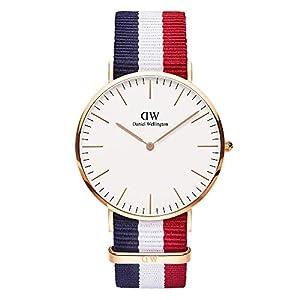Daniel Wellington Reloj con Correa de Acero para Hombre 0103DW