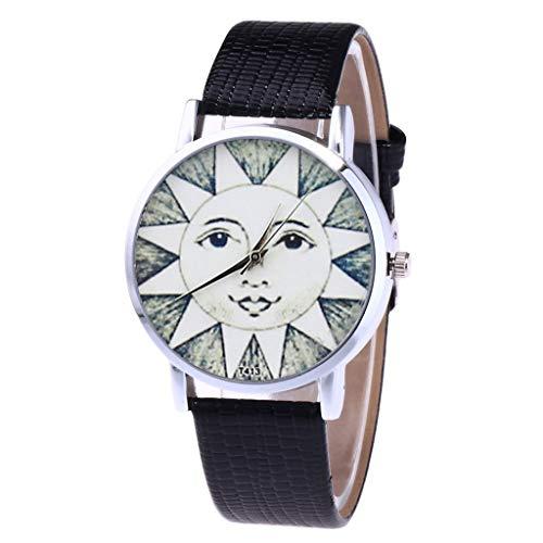 Carrymee Uhren Damen Armbanduhr Klassische Elegant Damenarmbanduhr Hochwertiges Silikon Mesh Armband Watch Einzigartiges Design Print Zifferblatt Uhr Exquisite Verarbeitung Quarzwerk Damenuhr
