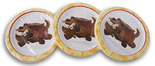 Retail The Secret Life of Pets Party Supply Kit - 24 Plates