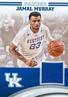 Jamal Murray player worn jersey patch basketball card (Kentucky Wildcats) 2016 Panini Team Collection #JM-UK
