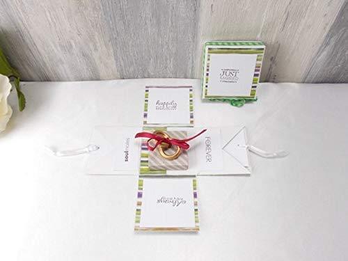 Explosionsbox Hochzeit, Hochzeitsgeschenk, Geldgeschenk, Geschenk zur Hochzeit
