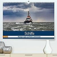 Schiffe - Begegnungen auf Nord- und Ostsee (Premium, hochwertiger DIN A2 Wandkalender 2022, Kunstdruck in Hochglanz): Kalender fuer Schiffsliebhaber (Monatskalender, 14 Seiten )