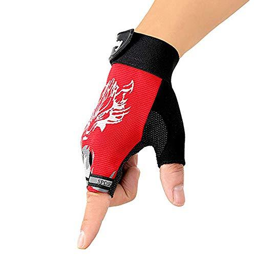 Cavalier Motocross handschoenen, halfvinger wolfkopf motorhandschoenen