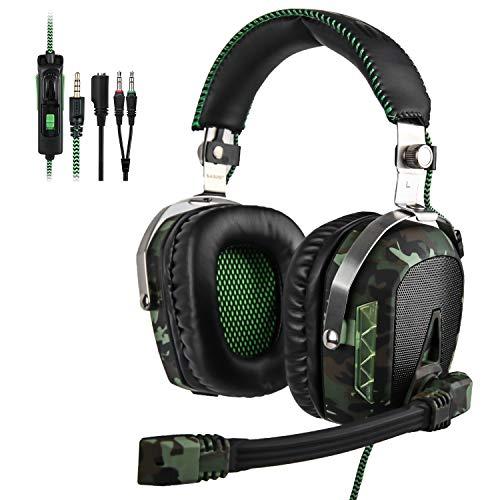 SADES SA926T Xbox One Headset Surround Sound Ove Ear Kopfhörer, Gaming Headsets für Xbox One / PC / PS4