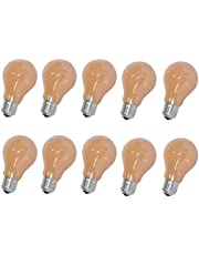 10 x gloeilamp Softone Flame Terracotta 60W E27 gloeilamp 60 Watt gloeilampen gloeilampen