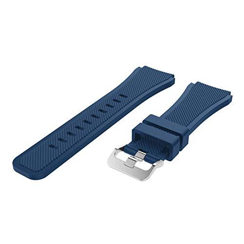 Gear S3 - Correa de silicona para Samsung Gear S3/Classic Gear S3 Frontie Samsung, 19 colores