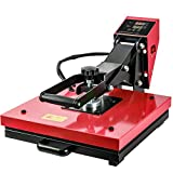 Welbest Large Size 15x15 Inch Heat Press Machine for T Shirts, Digital Sublimation Press Machine with LED Digital Display, Industrial Heat Printer Heat Transfer Machine for t Shirts