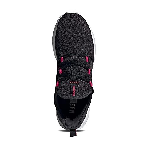 adidas Cloudfoam Pure 2.0, Zapatillas para Correr de Carretera Mujer, Core Black/Iron Metallic/Team Real Magenta, 38 EU