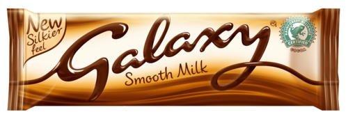 Galaxy Smooth Milk Chocolate 42g (6 Bars)