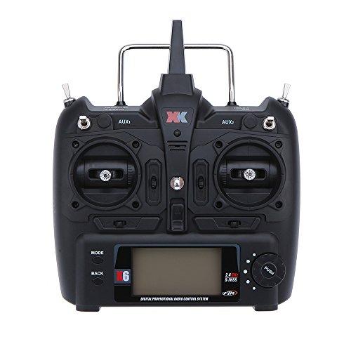 FairOnly XK K100 K110 K120 K123 124 - Mando a Distancia para helicóptero por radiocontrol
