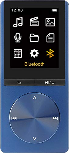 Difrnce MP1820BT 4 GB bluetooth multimediaspeler, MP3-speler, tot 25 uur muziekgenot, tot 8 uur video