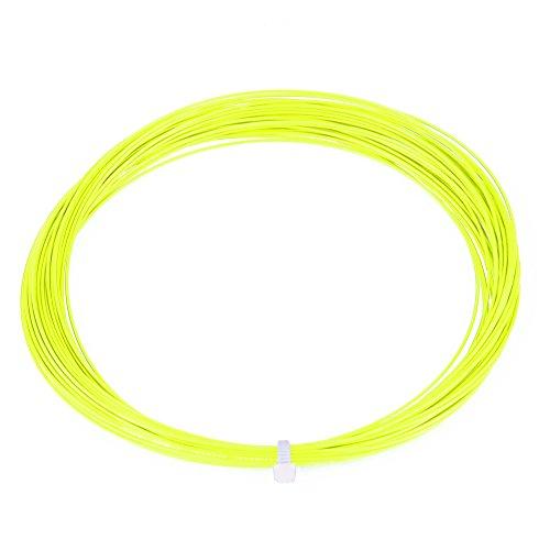 Keenso Cuerdas de Bádminton, Cuerda Nylon 10 m, Accesorio de Reparación de Bádminton(Verde Fluorescente)