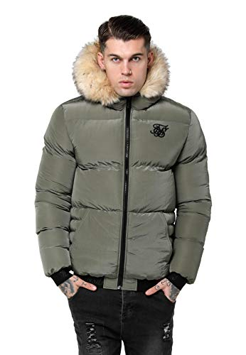 Sik Silk Cazadora Distance Jacket Khaki Hombre M Verde
