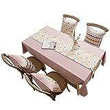 DreamyDesign Tischfahne modern minimalistisch Tischdecke Esstisch Fahne Tischdecke Stoff Tischdecke stilvolle atmosphärische Tischmatte