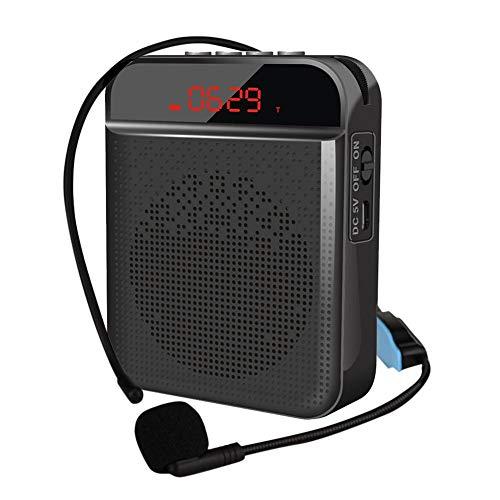 chora Amplificador de Voz inalámbrico, Altavoz portátil con Bluetooth, Sistema de megafonía...