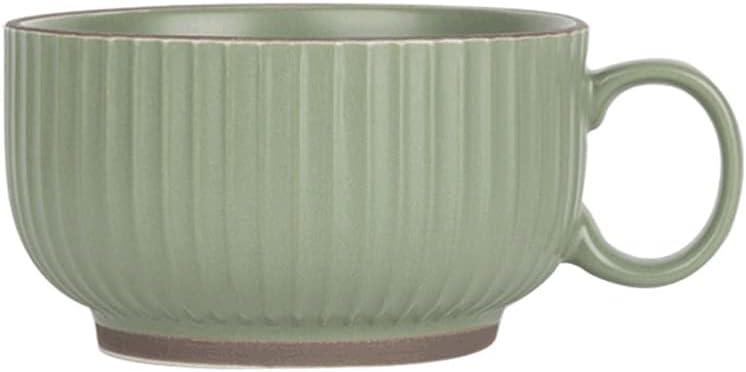 mugs 400ML Large Mug Ceramic Nippon regular agency Mul Coffee Handle With Creative Al sold out.